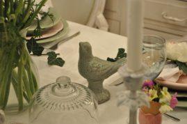 oiseau vert décoration