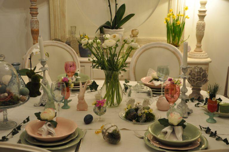 table en soirée