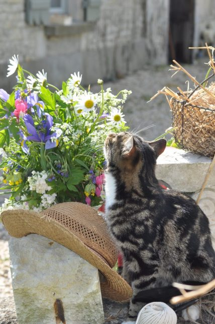 nouga paille et bouquet