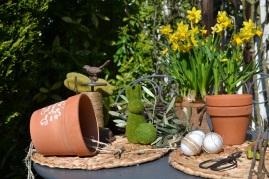 lien dans pot de Pâques
