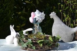 Poule et Lapins de Pâques