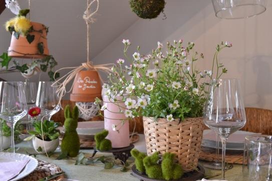 table printanière de Pâques