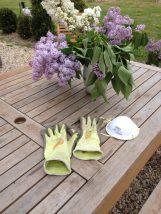 gants et masque pour pulvérisation