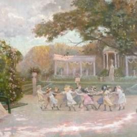 Delacroix La roseraie