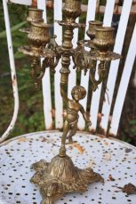 chandelier chiné brut