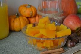 potimarron cuit pour la recette de smoothie vitaminé