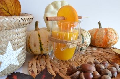 smoothie orange potimarron