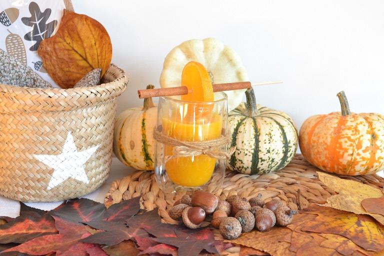smoothie d'automne dégustation