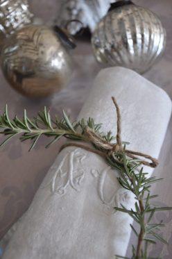 romarin-serviette