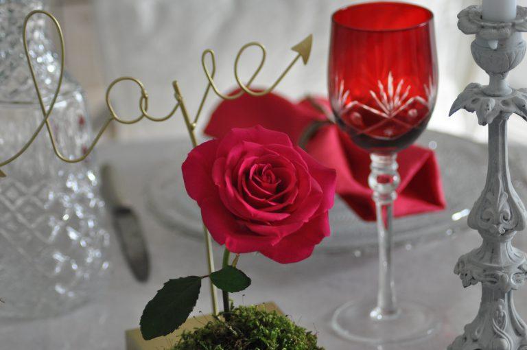 love et rose