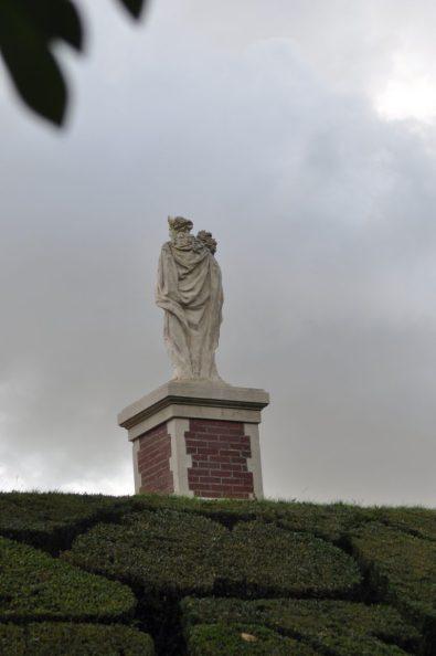 parterre de broderie à Breteuil
