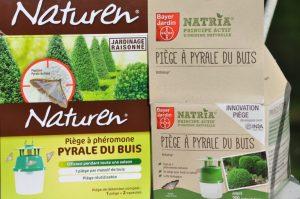 Pièges pyrale Bayer et Naturen