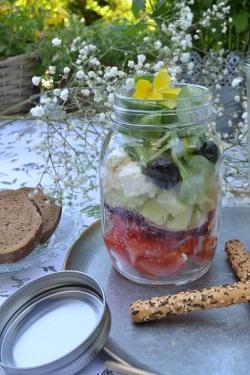 salade jar crétoise