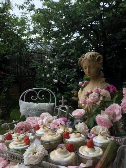 Desserts au jardin