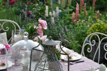 Table au jardin