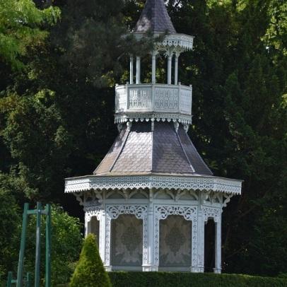 kiosque de l'impératrice de Bagatelle
