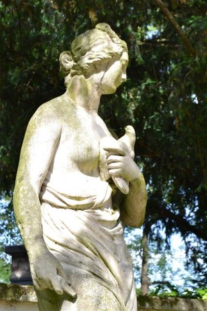 statues du parc Bagatelle