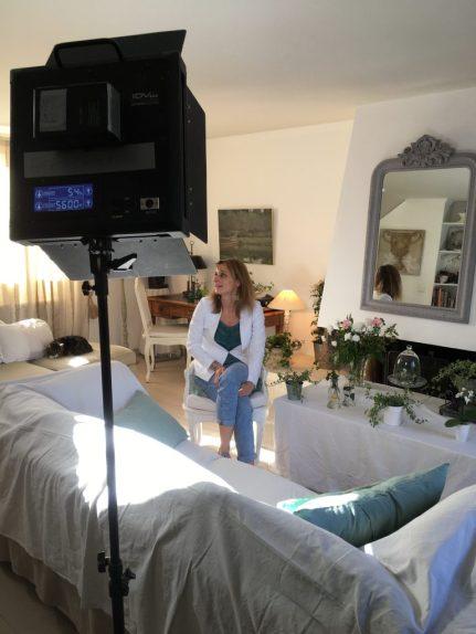 tournage sur les lierres