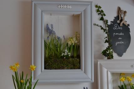 cadre végétal en portrait