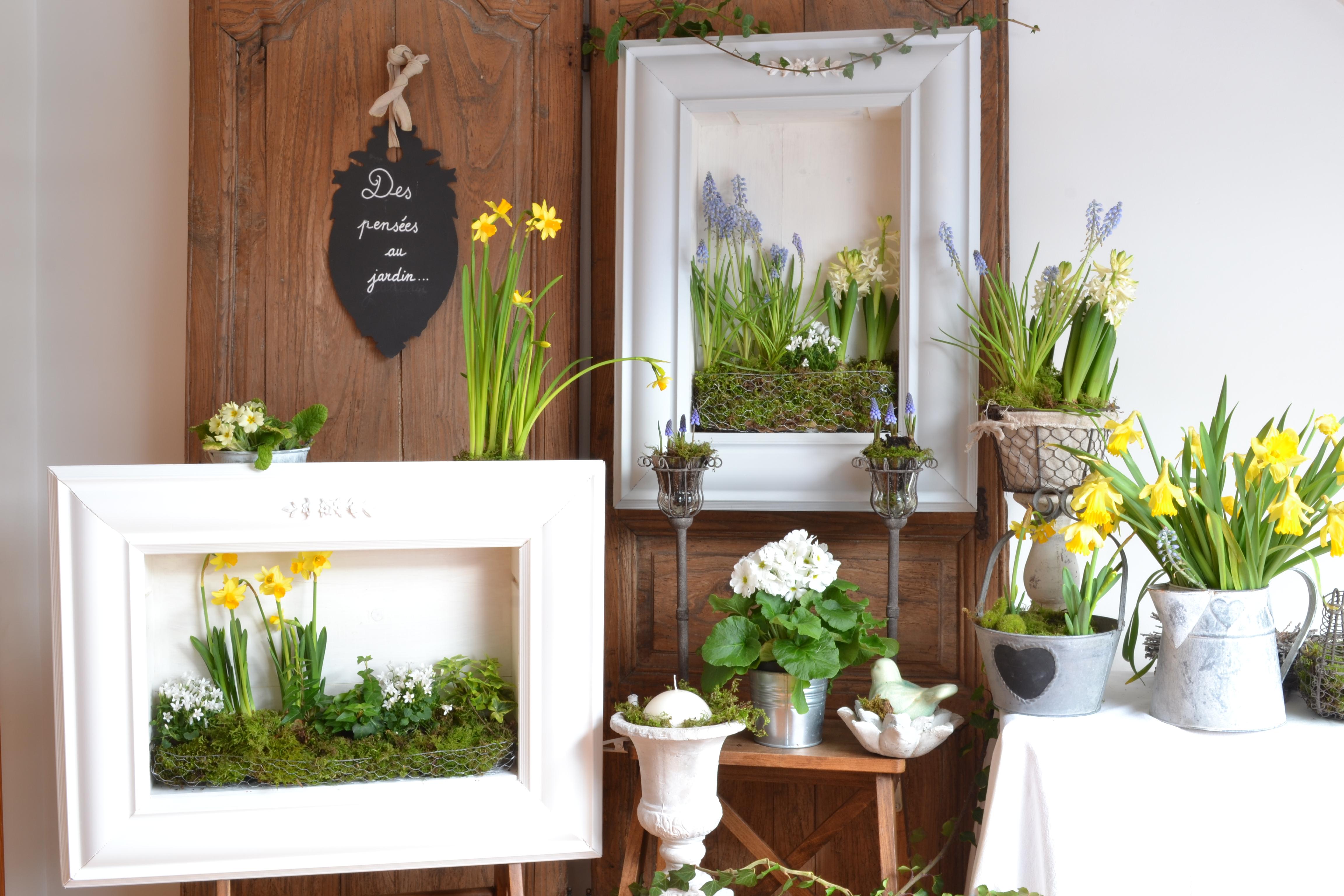 Plantes Pour Tableau Végétal Intérieur diy : tableau végétal à renouveler au gré des saisons. | des