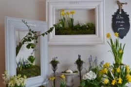 cadres végétaux fleuris