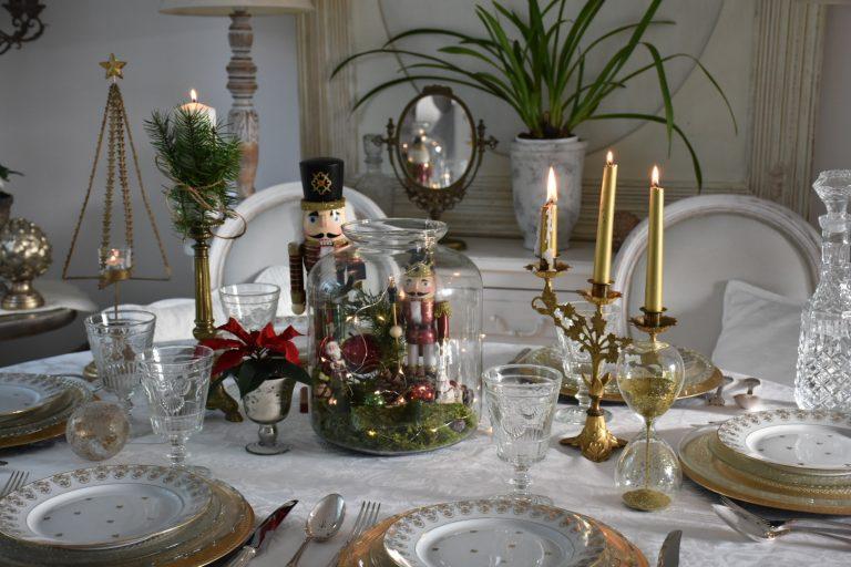 Table avec noelarium