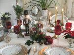 Table de Noël et noëlarium