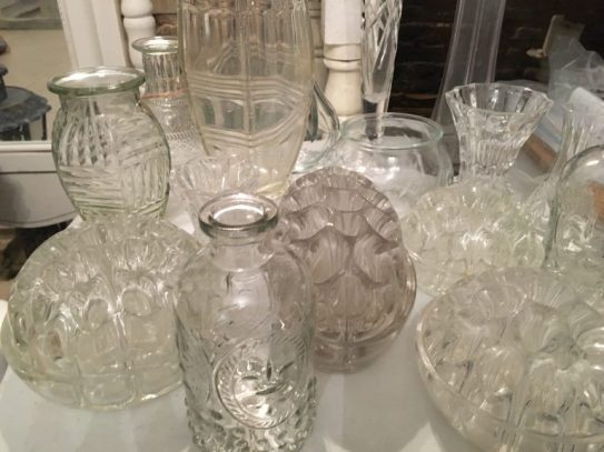 Collection vases