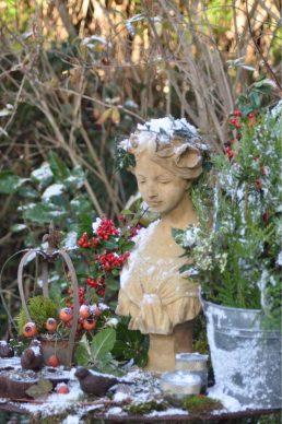 Début d'hiver, Aurore givrée