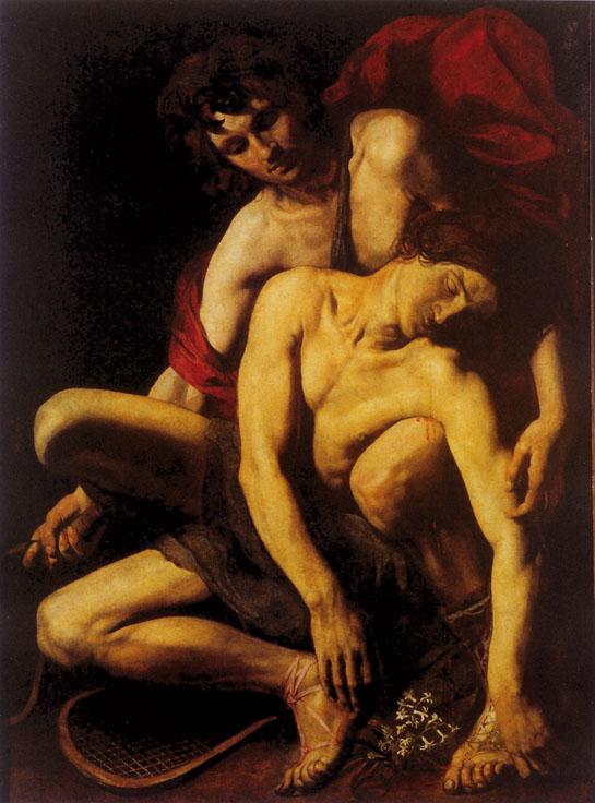 Caravage, Mort de Hyacinthe