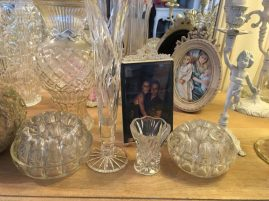 Collection vases et bougeoirs