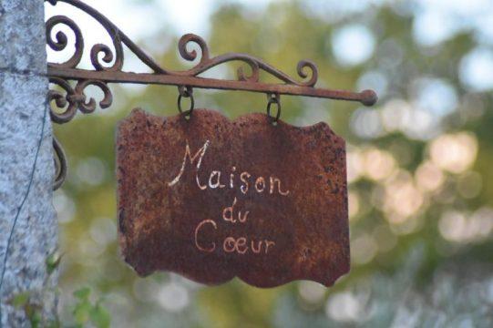 Maison du Coeur panneau