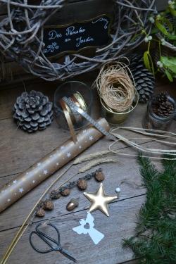 materiel diy cadeau nature